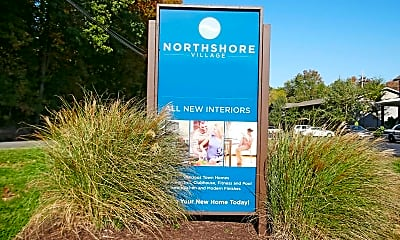 Community Signage, Northshore Village Apartments, 2