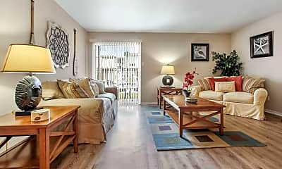 Living Room, Summerfield Apartment Homes, 0