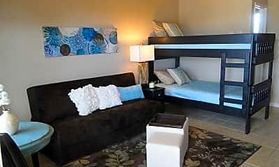 Bedroom, Lion's Den Efficiency Apartments, 0