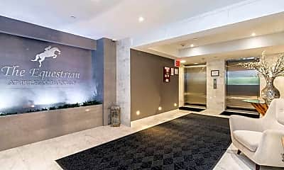 Foyer, Entryway, The Equestrian at Pelham Parkway, 1