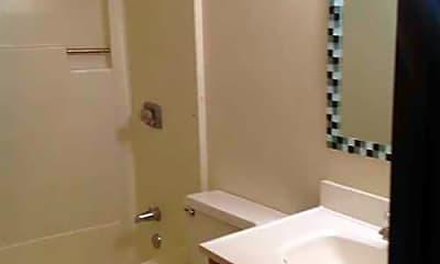 Bathroom, Meadowbrook Apartments, 2