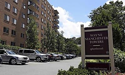 Community Signage, Wayne Manchester Towers, 2