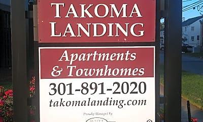 Takoma Landing, 1
