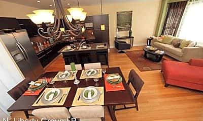 Living Room, 4525 Fleming St, 1