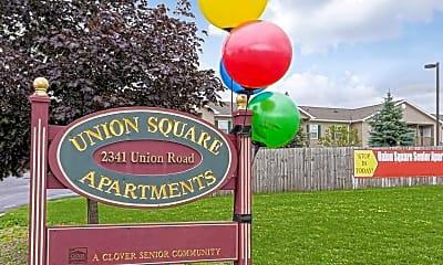 Community Signage, Union Square Senior Apartments, 2
