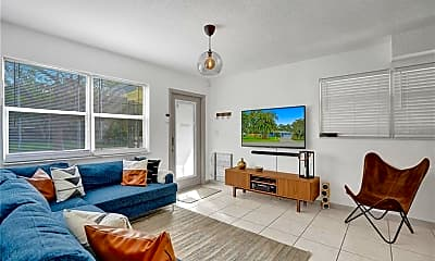 Living Room, 1015 SW 21st St, 1