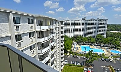 Patio / Deck, Haddonview Apartments, 2