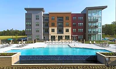 Pool, The Jane Moore's Lake Apartments, 1