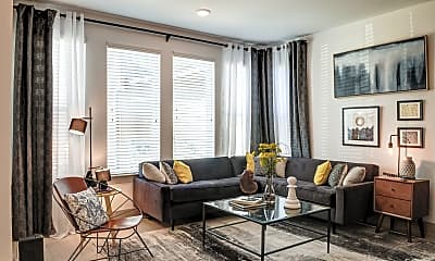 Living Room, Cortland Peachtree Corners, 1