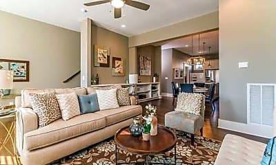 Living Room, Hillwood Court, 1