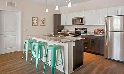 Kitchen, Venetian Apartments, 1