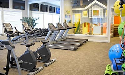 Fitness Weight Room, Herriman Towne Center, 1