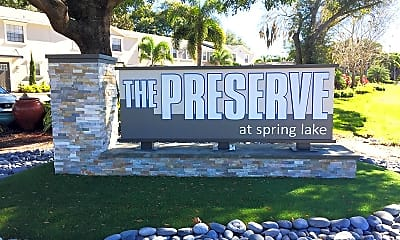 Community Signage, The Preserve at Spring Lake, 2