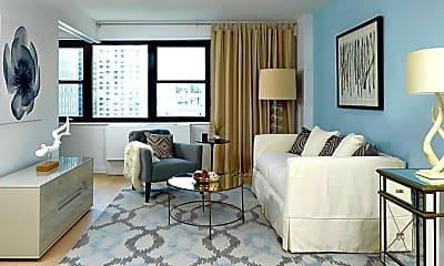 Living Room, 260 W 52nd St, 2