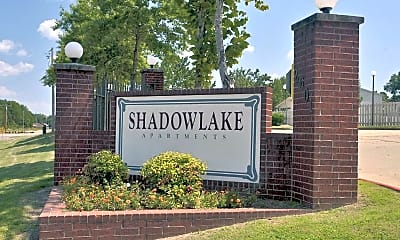 Community Signage, Shadow Lake, 2