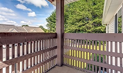 Patio / Deck, Rowell Apartment, 2