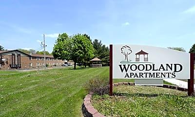 Community Signage, The Woodland Apartments, 2