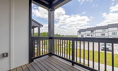 Patio / Deck, 504 Hampton Crossing, 2