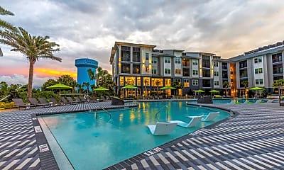 Pool, The Adley Lakewood Ranch Waterside, 2
