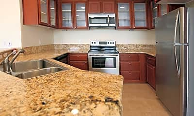 Kitchen, The Belvedere, 1