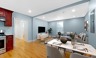 Living Room, 22 Leroy Street, Unit 1, 0