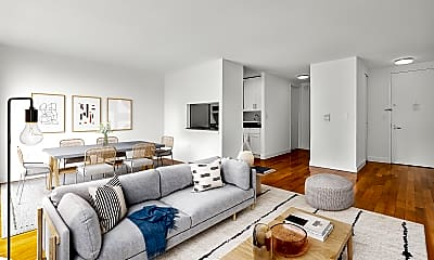Living Room, 290 3rd Ave 23D, 1