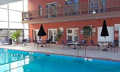 Pool, Brannon Park Apartments, 1