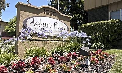 Community Signage, Asbury Place, 2