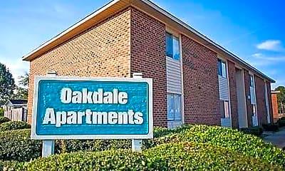 Community Signage, Oakdale Apartments, 0