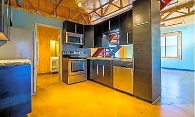 Kitchen, Lofts 213 at Norman, 1