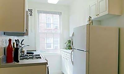 Kitchen, eaves Tunlaw Gardens, 1