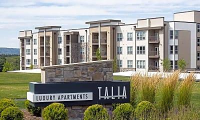Community Signage, Talia Apartments, 2