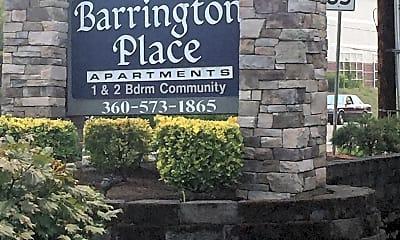Barrington Place, 1