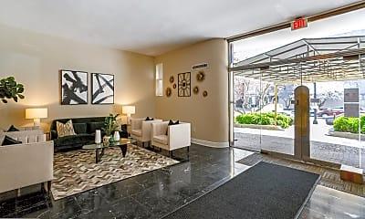 Living Room, 1727 Massachusetts Ave NW 303, 1