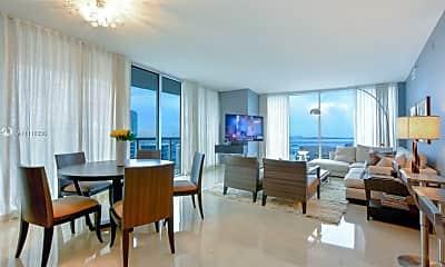 Living Room, 465 Brickell Ave 5302, 0