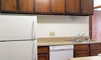 Kitchen, 318-408 17th Street NW, 1