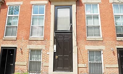 Building, 936 N Calvert St, 0