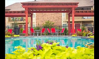 Pool, Twin Creek Village, 1