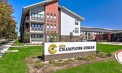 Community Signage, Alta Champions Circle Apartments, 2