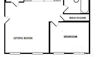 Bathroom, 1095 2nd Ave, 2