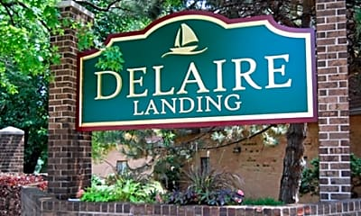 Delaire Landing Apartments, 1