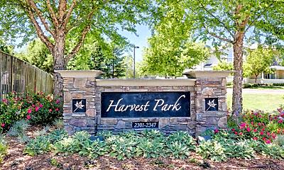Community Signage, Harvest Park, 0