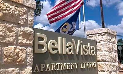 Community Signage, Bella Vista Apartments, 0