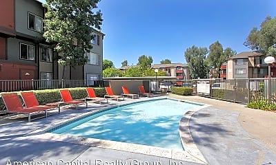 Pool, Riverhouse Apartments, 2