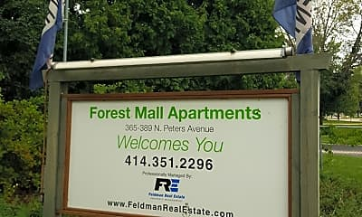 Forest Mall Apartments, 1