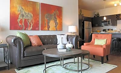 Living Room, Springs at University Drive, 1