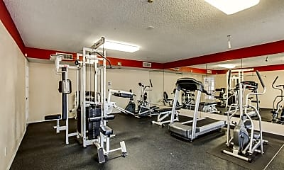 Fitness Weight Room, The Vineyards at Arlington II, 2