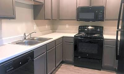 Kitchen, Pendleton Flats, 1