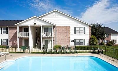 Pool, Ozark Plantation Apartments, 0