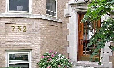 Building, Stringer Apartments, 1